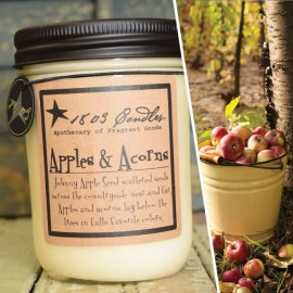 1803 Soy Candle APPLES & ACORNS 14 oz. Jar